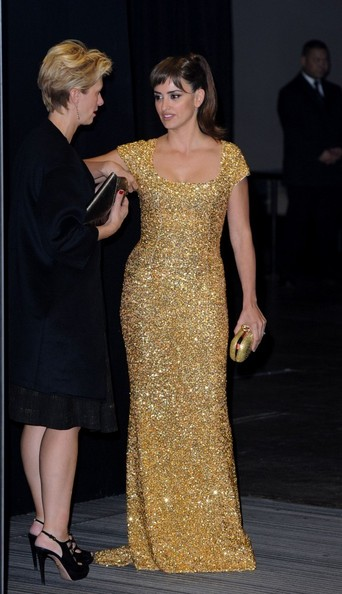 More Pics of Penelope Cruz Beaded Dress (1 of 1) - Penelope Cruz Lookbook - StyleBistro