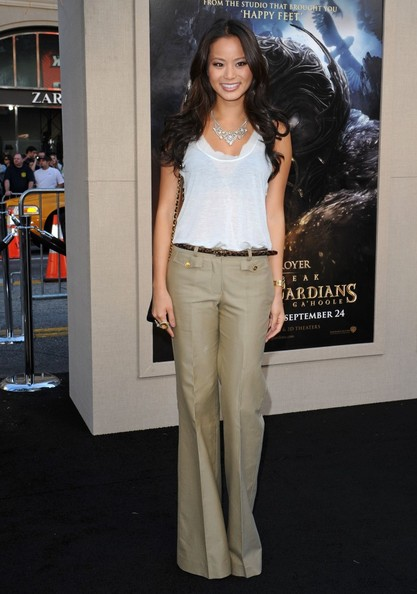 Jamie Chung High-Waisted Pants