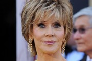Jane Fonda Layered Razor Cut