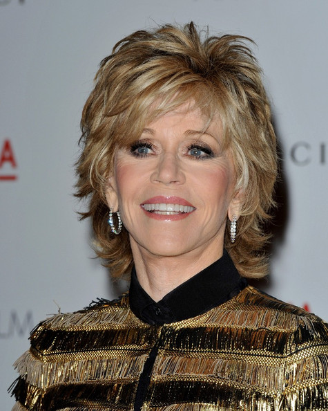 Jane Fonda Layered Razor Cut []