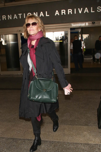 More Pics of Jane Fonda Ankle Boots (1 of 6) - Boots Lookbook - StyleBistro