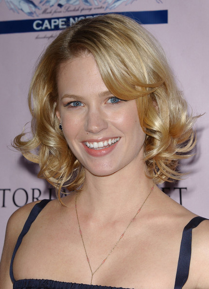 January Jones Curled Out Bob []