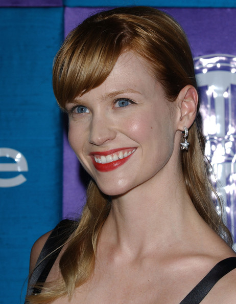 January Jones Half Up Half Down []