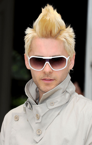 Jared Leto Designer Shield Sunglasses