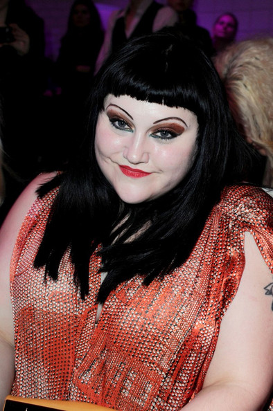 More Pics of Beth Ditto Heart Tattoo (1 of 6) - Beth Ditto Lookbook - StyleBistro