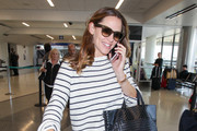 Jennifer Garner Leather Sneakers