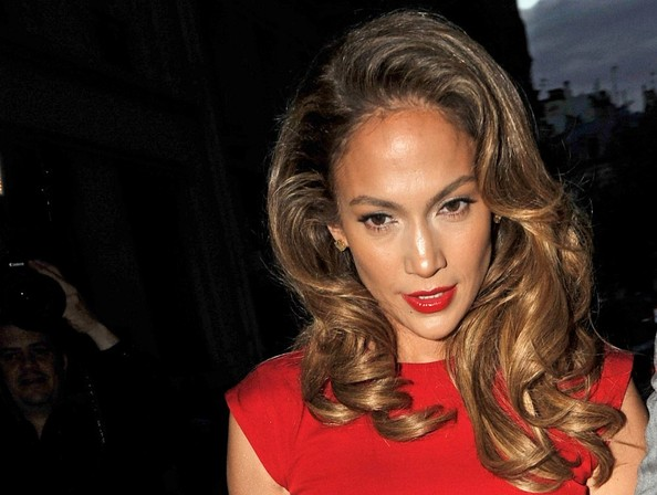 Jennifer Lopez Long Curls