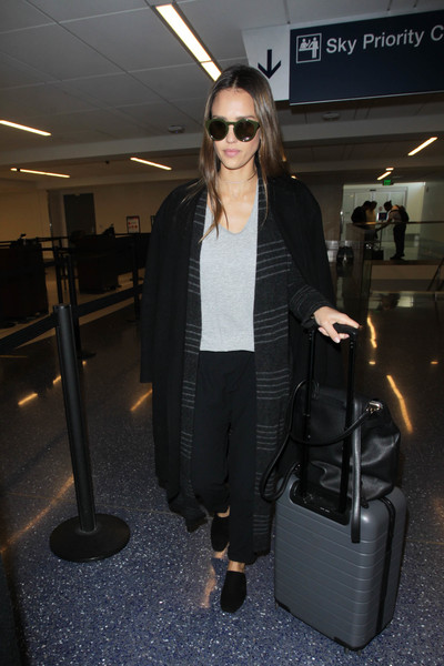 Jessica Alba Designer Backpack