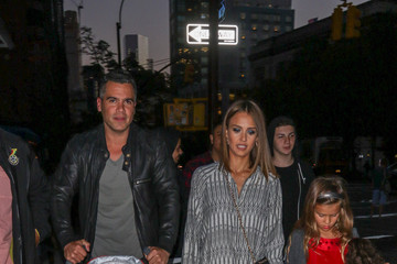 Jessica Alba Cash Warren The Alba Family Goes out in NYC