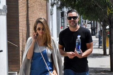 Jessica Alba Cash Warren Jessica Alba and Cash Warren out and about..