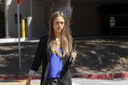 Jessica Alba runs errands in Brentwood on September 3, 2013.