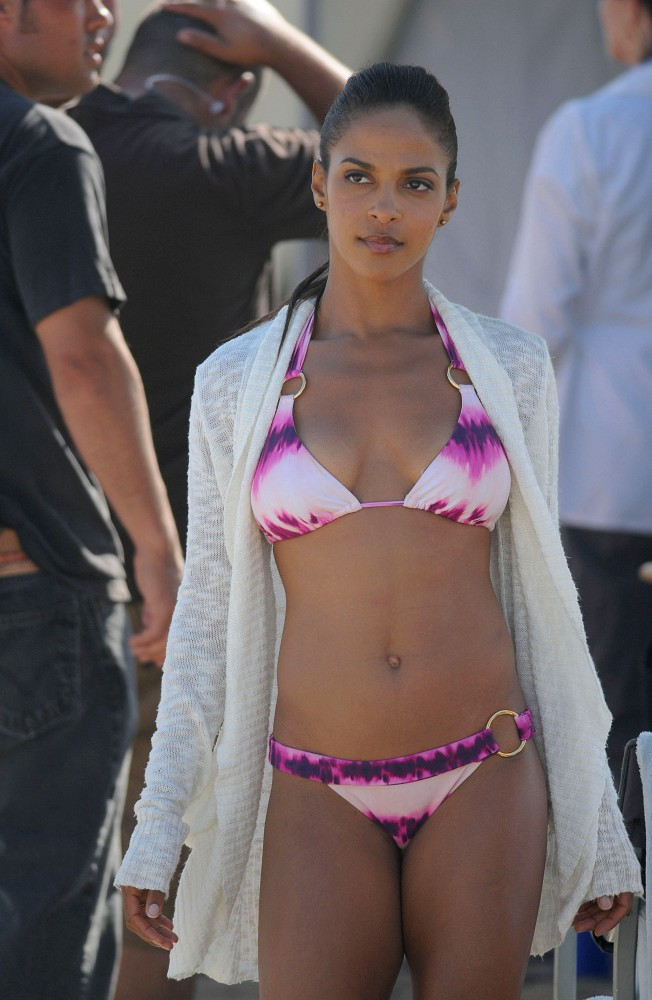Jessica Lucas Is One Hot Black Canadian With A Whip!