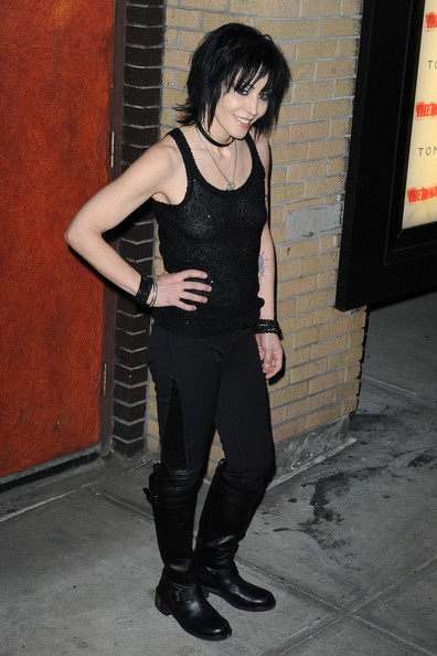 Joan Jett Knee High Boots