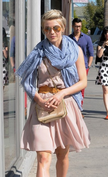 More Pics of Julianne Hough Solid Scarf (1 of 16) - Julianne Hough Lookbook - StyleBistro