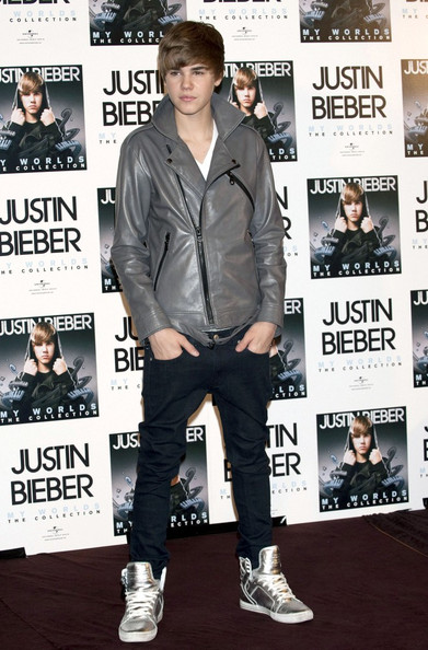 More Pics of Justin Bieber Basketball Sneakers (1 of 12) - Justin Bieber Lookbook - StyleBistro