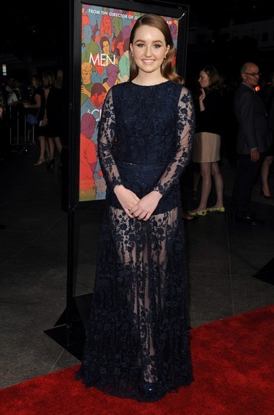Kaitlyn Dever Sheer Dress []