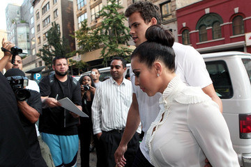 Kim Kardashian Kris Humphries The Kardashian Sisters in NYC