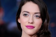 Kat Dennings Metallic Eyeshadow