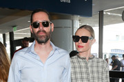 Kate Bosworth Square Sunglasses