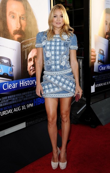 Kate Hudson Denim Dress