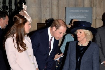 Kate Middleton Camilla Parker Bowles Commonwealth Service at Westminster Abbey