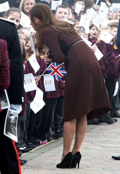 Kate Middleton Greets the Crowds in Grimsby