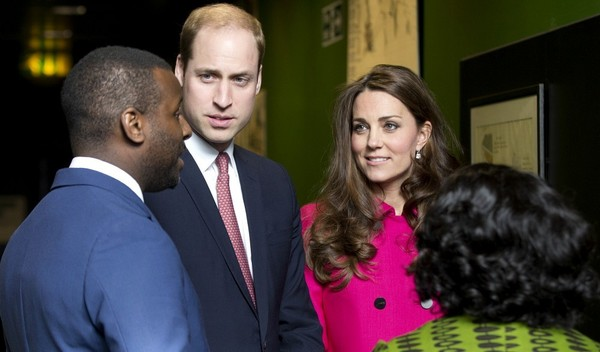 Kate and William Visit Stephen Lawrence Centre