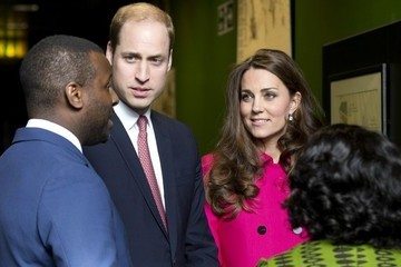 Kate Middleton Prince William Kate and William Visit Stephen Lawrence Centre