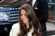 Look of the Day: Kate Middleton Is Regal in White