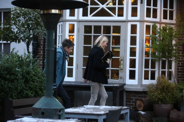 Kate Moss and Jamie Hince Celebrate Her Birthday