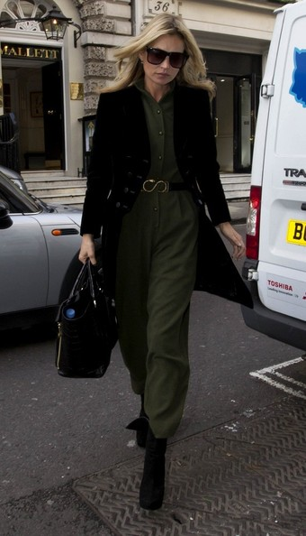 More Pics of Kate Moss Military Jacket (2 of 15) - Kate Moss Lookbook - StyleBistro