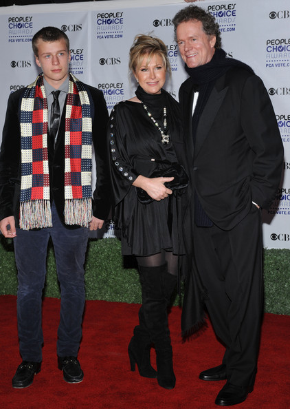 Kathy Hilton Over the Knee Boots