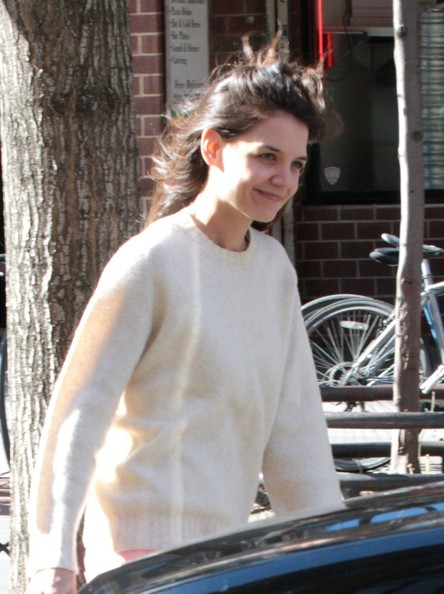 Katie Holmes Spotted in NYC