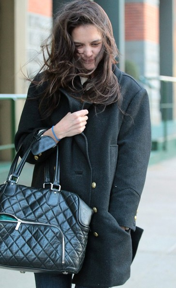 More Pics of Katie Holmes Wool Coat (1 of 11) - Wool Coat Lookbook - StyleBistro