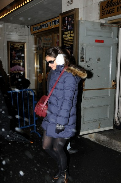 More Pics of Katie Holmes Ankle Boots (4 of 8) - Katie Holmes Lookbook - StyleBistro []