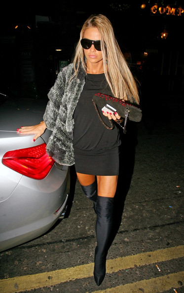 Katie Price Over the Knee Boots