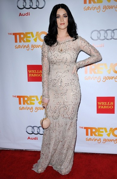 Katy Perry Beaded Dress []