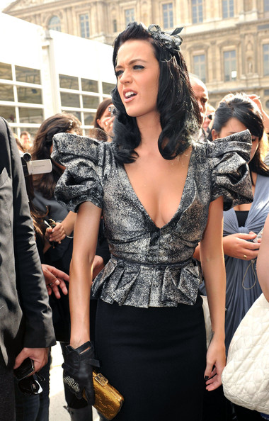 Katy Perry Leather Gloves []