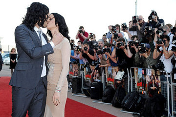 Katy Perry Russell Brand 'Arthur' Premieres in London