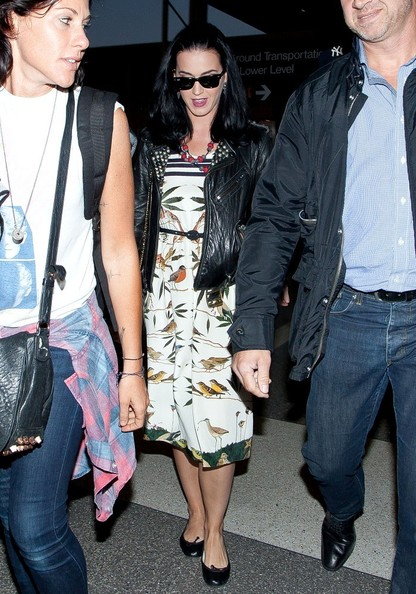 More Pics of Katy Perry Leather Jacket (5 of 18) - Katy Perry Lookbook - StyleBistro