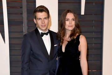 Keira Knightley James Righton Stars at the Vanity Fair Oscar Party