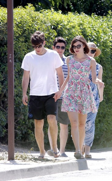Keira Knightley and James Righton at Club 55