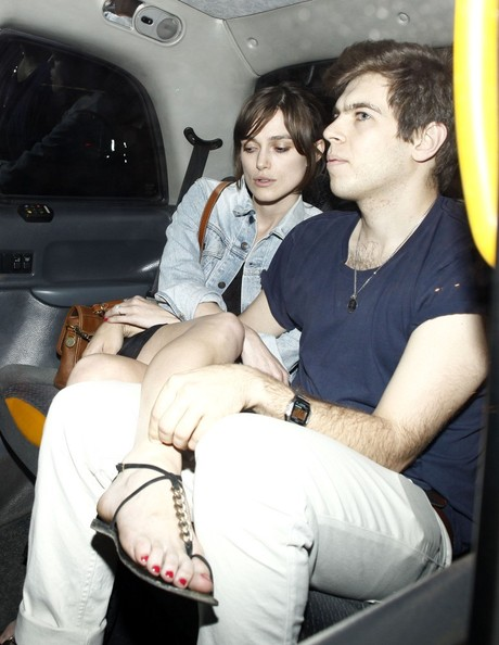 Keira Knightley and James Out Together
