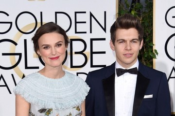 Keira Knightley James Righton Arrivals at the Golden Globe Awards