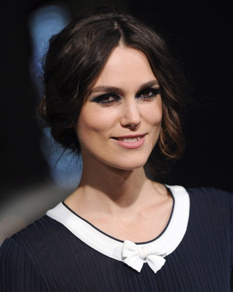 Keira Knightley Bobby Pinned Updo