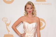Kelli Garner Strapless Dress