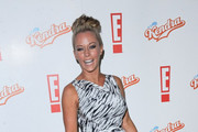 Kendra Wilkinson promotes her show 'Kendra' .