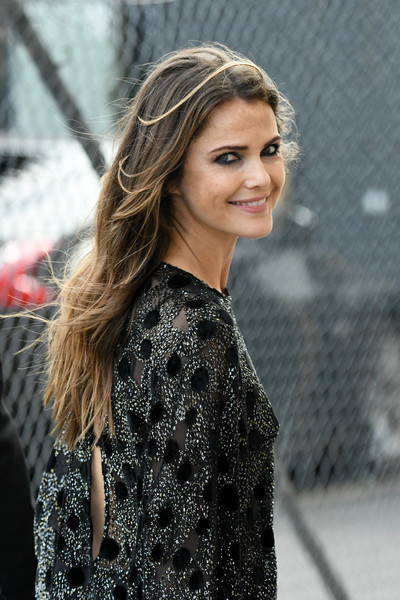 More Pics of Keri Russell Suede Clutch (1 of 21) - Clutches Lookbook - StyleBistro