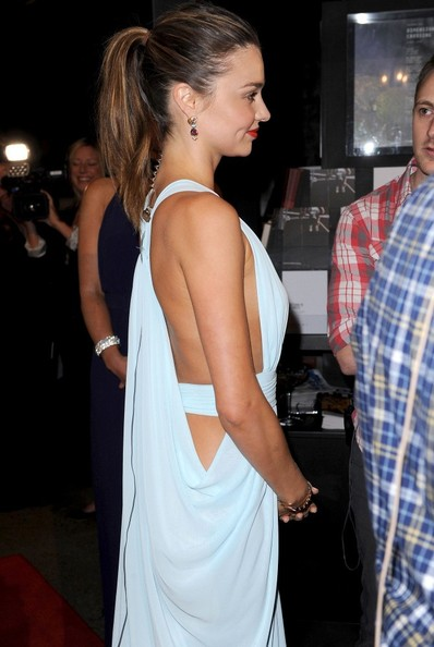 More Pics of Miranda Kerr Ponytail (1 of 30) - Miranda Kerr Lookbook - StyleBistro