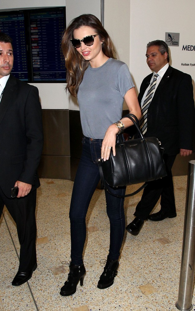 Miranda Kerr Arrives in Sydney
